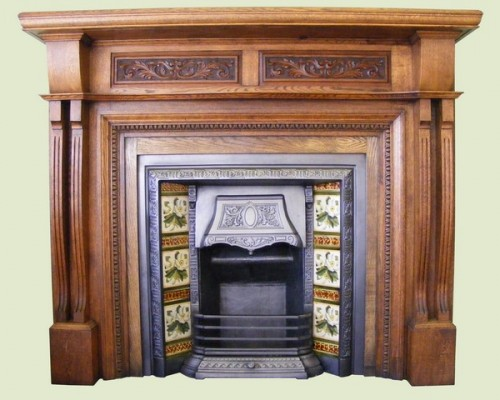 Antique Fire Surrounds and Inserts (Available separately)
