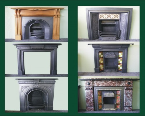 View All Antique Fireplaces