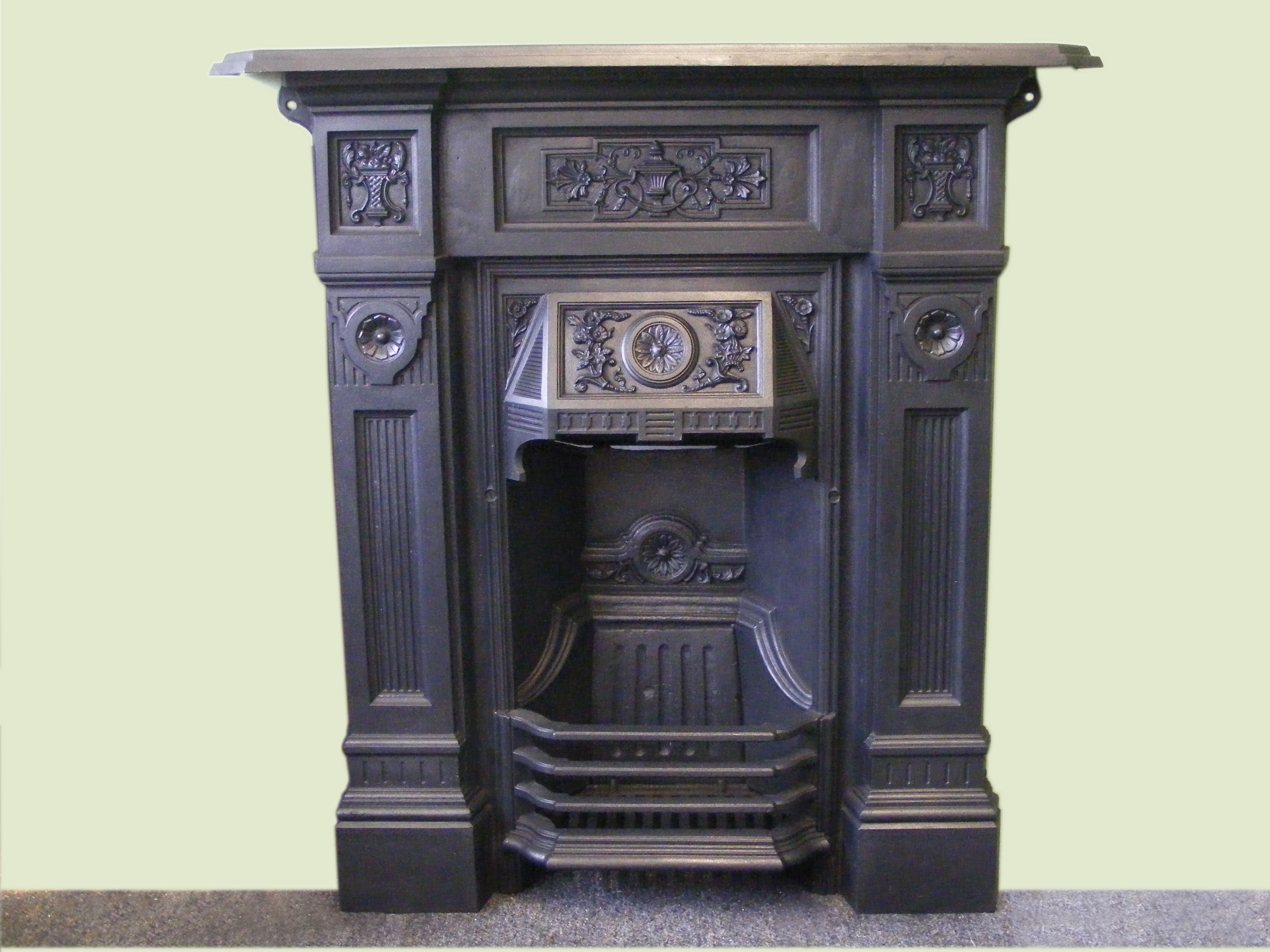 wentworth fireplace polish cast iron fires cottage fireplaces full photo integra from of anson
