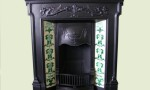 Edwardian tiled fireplace