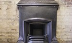 Victorian combination fireplace