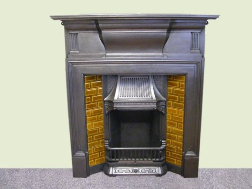 Edwardian Tiled Fire Surround
